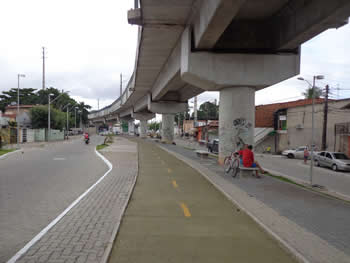 Urbanização Elevado do Metrofor - Estação Parangaba-Fortaleza-CE